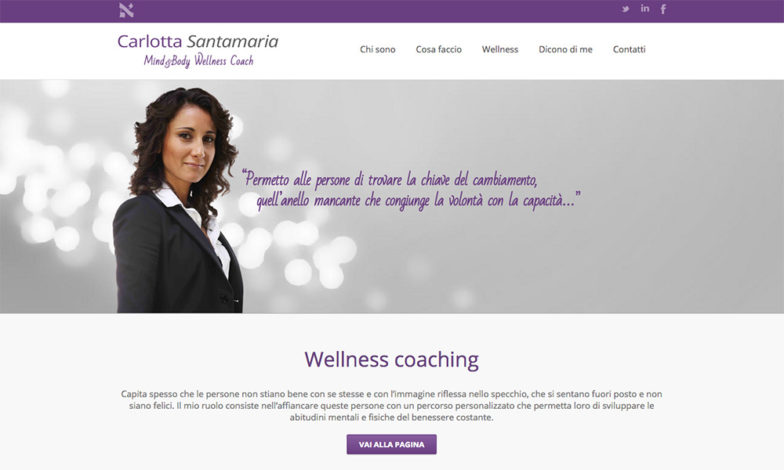 Carlotta Santamaria Wellness Coach