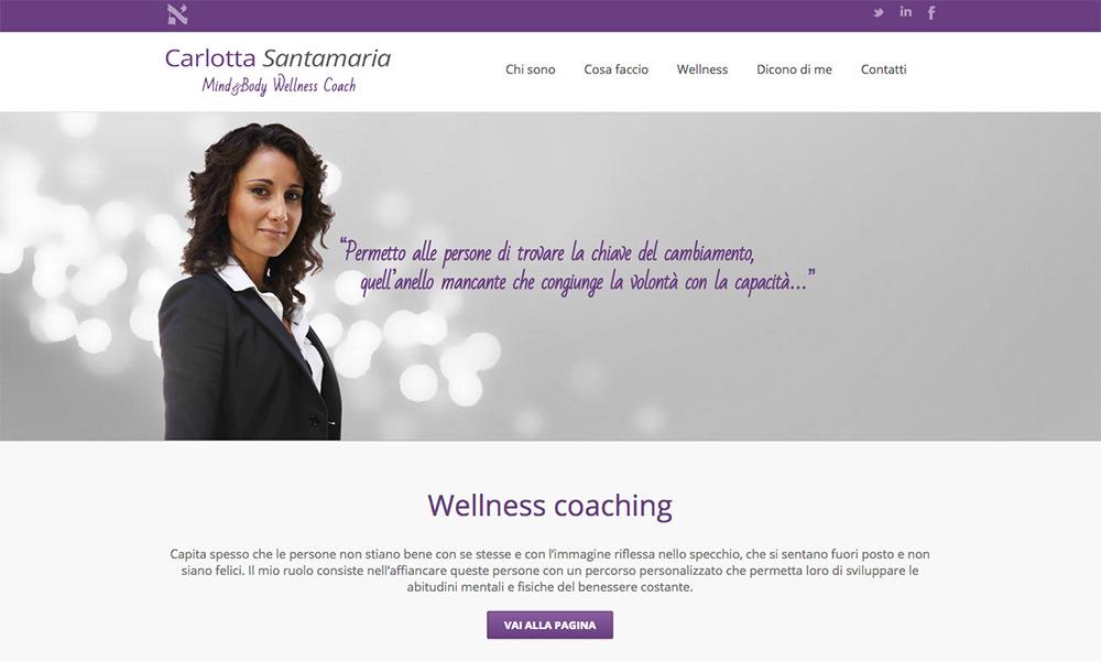 Carlotta Santamaria Wellness Coach
